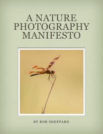 A Nature Photography Manifesto book