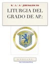 LITURGIA DEL GRADO DE AP