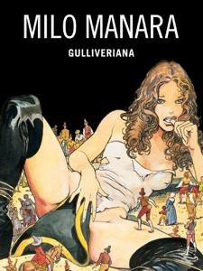 Gulliveriana di Milo Manara Copertina del libro