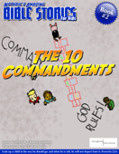 Nothric's Amazing Bible Stories for Kids: The 10 Commandments