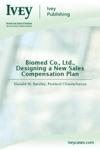 Biomed Co Ltd Designing A New Sales Compensation Plan