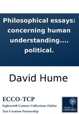 Philosophical Essays Concerning Human Understanding By The Author  Philosophical Essays Concerning Human Understanding By The Author Of The  Essays Moral And Political Abortion Websites With Citation also Persuasive Essay Topics For High School  English Language Essay