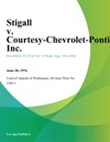 Stigall V Courtesy-Chevrolet-Pontiac Inc