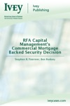 RFA Capital Managements Commercial Mortgage Backed Security Decision