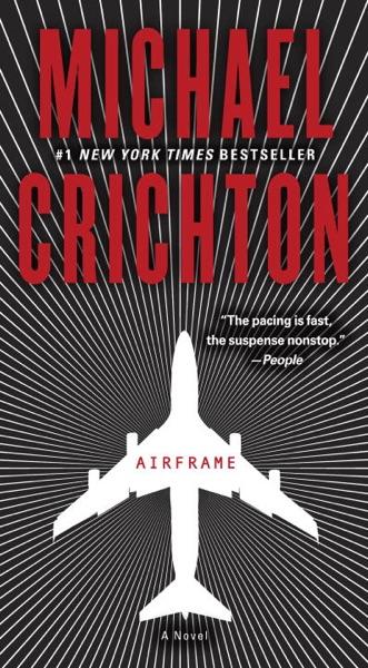 Airframe - Michael Crichton book cover