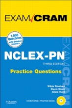 NCLEX-PN Practice Questions Exam Cram, 3/e