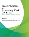 Freezer Storage V Armstrong Cork Co Et Al