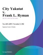 City Yakutat v. Frank L. Ryman