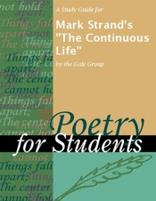 Download A Study Guide for Mark Strand's