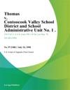 Thomas V Contoocook Valley School District And School Administrative Unit No 1