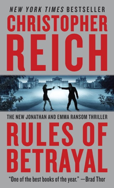 Rules of Betrayal - Christopher Reich book cover