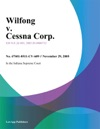 Wilfong V Cessna Corp