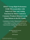 RX62T Group High-Performance 32-Bit Microcontrollers With Improved Timer And Analog Functions For Motor Control In Consumer Products Released As The Third Release In The RX Family Contribution To Further Miniaturization And Lower Costs In High-Level Motor Control And Inverter Control System Enabling High Efficiency And Low Noise