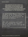 The Effects Of Self-Efficacy Emotional Intelligence And Perception Of Future Work Environment On Preservice Teacher Commitment To The Profession
