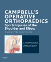Campbells Operative Orthopaedics Sports Injuries Of The Shoulder And Elbow E-Book