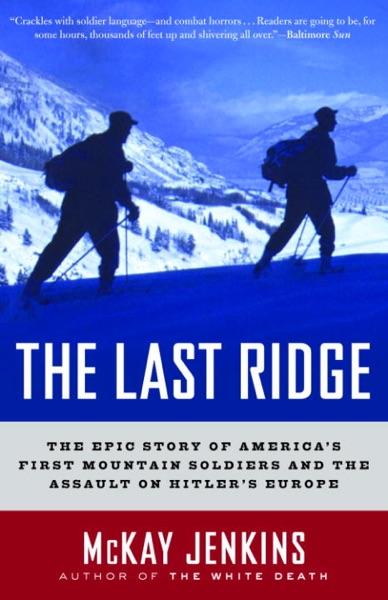 The Last Ridge - McKay Jenkins book cover