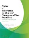 Akins V Enterprise Rent-A-Car Company Of San Francisco