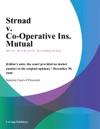 Strnad V Co-Operative Ins Mutual