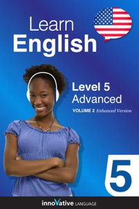 Learn English - Level 5: Advanced English (Enhanced Version) Book Cover