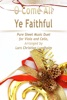 O Come All Ye Faithful Pure Sheet Music Duet For Viola And Cello, Arranged By Lars Christian Lundholm