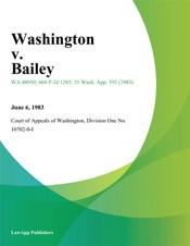 Download Washington v. Bailey