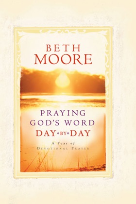 Praying God's Word Day by Day book cover