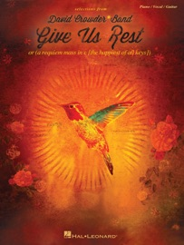 DAVID CROWDER*BAND - GIVE US REST (SONGBOOK)