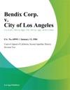 Bendix Corp V City Of Los Angeles