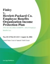 Finley V Hewlett-Packard Co Employee Benefits Organization Income Protection Plan