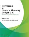 Herrmann V Newark Morning Ledger Co