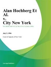 Download Alan Hochberg Et Al. v. City New York