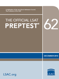 The Official LSAT PrepTest 62