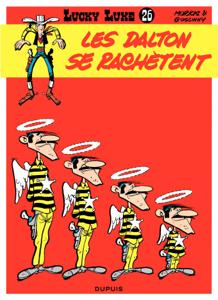 Lucky Luke - Tome 26 - LES DALTONS SE RACHETENT La couverture du livre martien