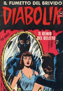 Diabolik #5 Libro Cover