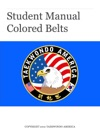 Taekwondo America Colored Belt Manual