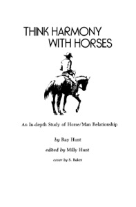 Think Harmony With Horses Book Cover