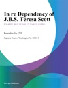 In Re Dependency Of JBS Teresa Scott