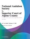 National Audubon Society V Superior Court Of Alpine County