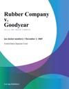 Rubber Company V Goodyear