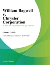 William Bagwell V Chrysler Corporation