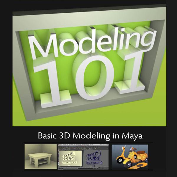 Modeling 101: Basic 3D Modeling In Maya