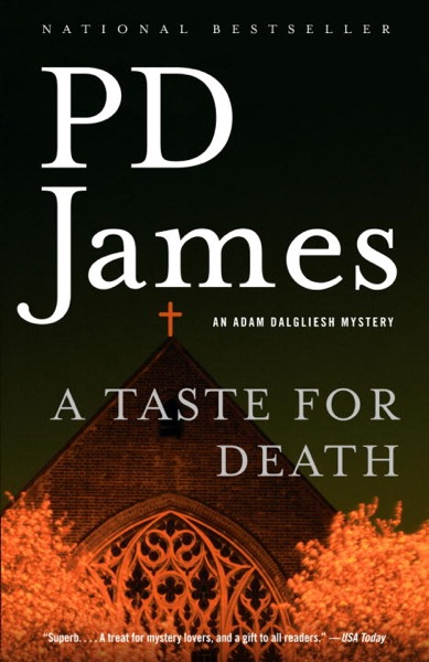 A Taste for Death - P. D. James book cover