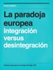 JosГ© Javier Monroy Vesperinas - La paradoja europea portada
