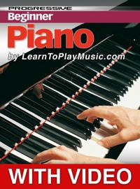 Beginner Piano Lessons - Progressive (Video Enhanced)