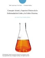 Download and Read Online Concepto Actual y Aspectos Clinicos de la Enfermedad de Crohn y la Colitis Ulcerosa.