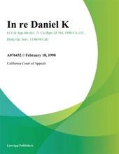 In Re Daniel K.
