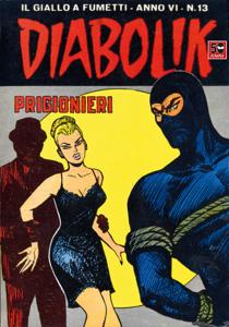 DIABOLIK (89) Copertina del libro