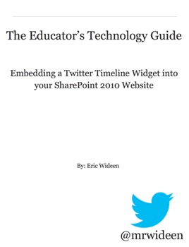 The Educator's Technology Guide: Embedding a Twitter