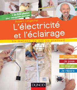 L'électricité et l'éclairage La couverture du livre martien