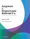 Jorgensen V Pennsylvania Railroad Co